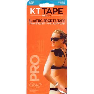 KT Tape Pro Fast Pack X3 Precut Blue