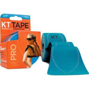 KT Tape Pro Synthetic Precut Laser Blue