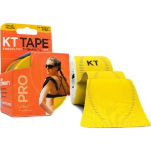 KT Tape Pro Synthetic Precut Yellow